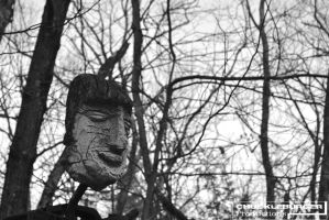 Watcher In The Woods 1 - Bw by wagn18