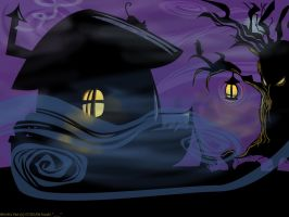 Witch's Hut by Hisshi