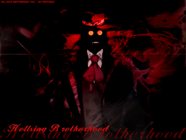 hellsing brotherhood by bizaroidboy