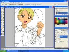 Angelic layer picture progress by tigrelustre316