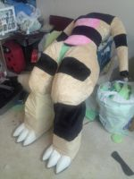 Bodysuit progress (w/video)!!! by TaoKyuubimon