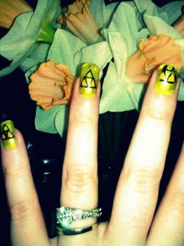 TriForce Of Nails by gabbis0n