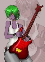 OC - Guitarist from Hell :D by TheHosner