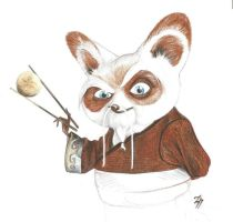 Master Shifu by CeskaSoda