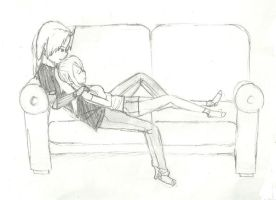 Ed and Winry by guardian-angel15