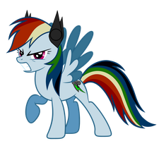Rainbine In Anger With *Earbuds*(Read description) by RDbrony16