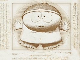 Vitruvian Cartman by juzmental