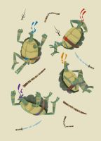 TMNT by bearmantooth