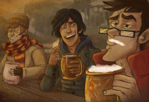 Butterbeers by Alatariel-Amandil
