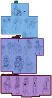 WIP: kh2 + Sinful7 + other by animegirl000