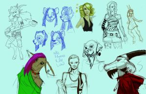 Sketch page by SketchDrayton