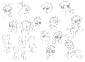 Filly Practice by Teh-TJ