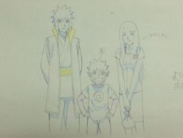 Uzumaki family_Road to ninja by Kira-XD