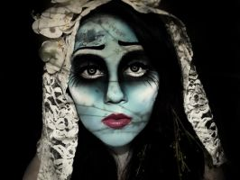 Corpse Bride Make-up by KikiMJ