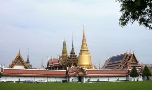 Emerald Temple Bangkok Thailand by SheltieWolf