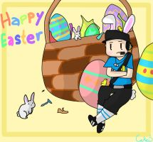 Happy Easter! by Cakeu-chan89