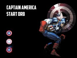 Captain America Start Orb by andyNroses