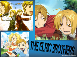 The Elric Brothers by Tentailedbeast