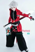 Blazblue Ragna The Bloodedge Cosplay Costume by miccostumes