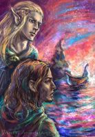 Farewell to Boromir by jesterry