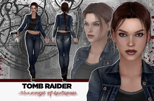 Tomb Raider AOD Parisian Backstreets RELEASE by konradM96