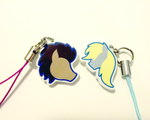 Doctor Whooves and Ditzy Doo Cellphone Charms by Enuwey