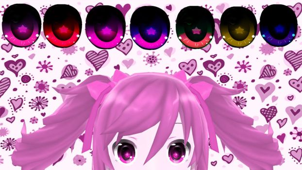 Texture Eyes DL by HuroNomoe