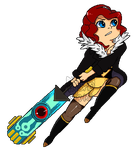 Transistor Pixel V2 by Queen-Sirius