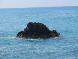 Solitary Rock by Extraintelligence