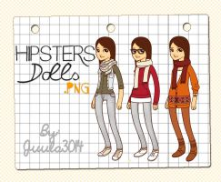 Hipsters Dolls - By Juula3014 by Juula3014