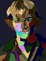 Jared Padalecki Pop Art by crazymonkey122