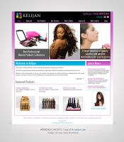 Webdesign for Kelijan by Amita-Gandhi