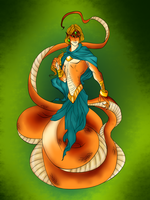 Naga Prince by FoxyLady300