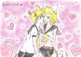 Rin x Len - The Sweetest Love by ArashiHeartgramm