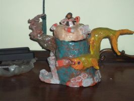 Rhinestone Eyes Teapot (front) by dragoon4456555