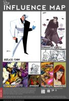 Influence Map Roe Mesquita by roemesquita