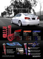 Tanabe Suspension Ad - GS by dkim1985