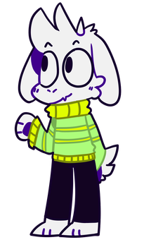 [Request]-Asriel Dreemurr by SnowyAcorN
