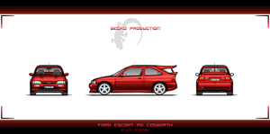 Ford Escort RS Cosworth Base by EC-designs