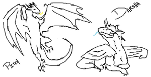 Dragons by DarkOverlord13