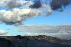 Clouds on the mounts by yasminstock