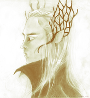 Thranduil by waywardgal