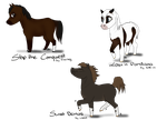 Join.me - Chibi horses by Saerl