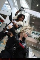 Cloud and Leon - AX - 3 by SharinganLord216