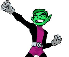 Beast Boy by DCFangirl01