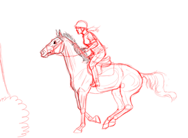 Lady Olympic training WIP by CollidingStarsStable