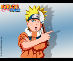 Naruto artist by PinkGirl123