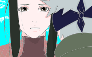 HanarexKakashi lineart colored by Loki-dByHiddleston