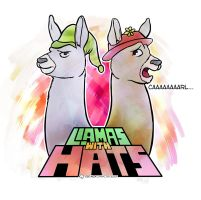 LLAMAS with HATS by osoalex
