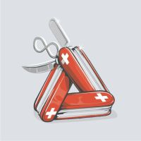 the infinite swiss army knife by tolagunestro